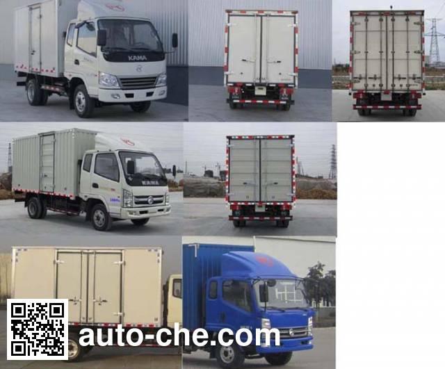 Kama KMC2042XXYA33P5 cross-country box van truck