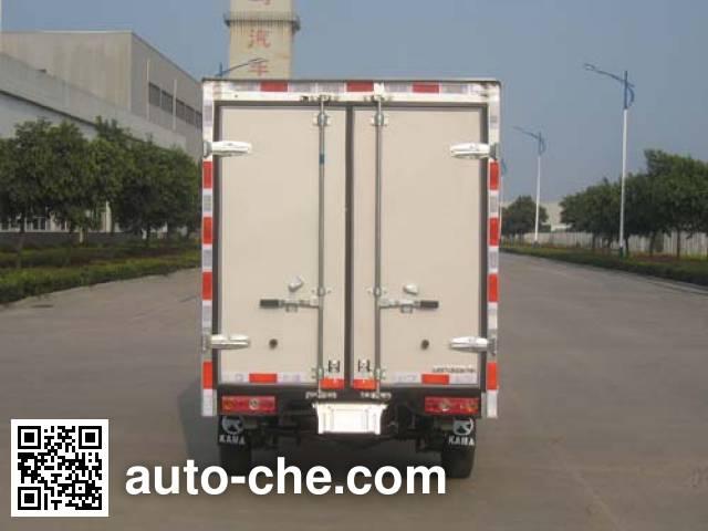 凯马牌KMC5033XXYEVB29D纯电动厢式运输车