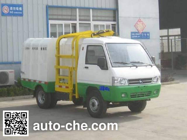 凯马牌KMC5030ZZZEVA23D纯电动自装卸式垃圾车