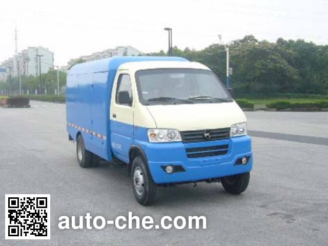 Kama KMC5034XTYEV30D electric sealed garbage container truck