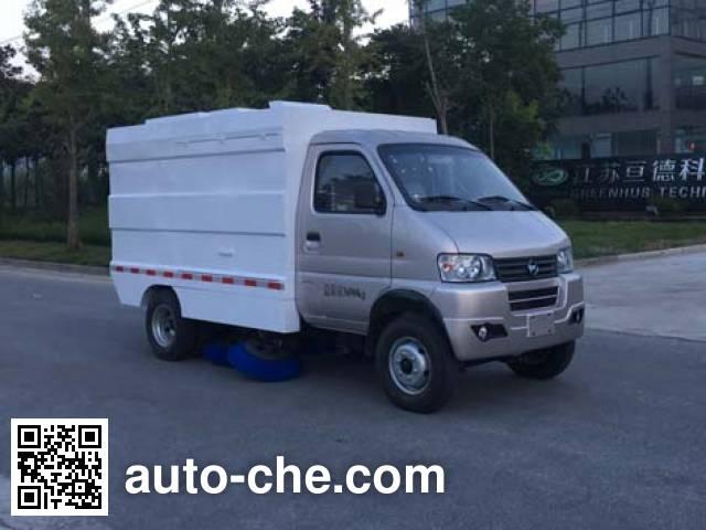 Kama KMC5035TSLEV30D electric street sweeper truck
