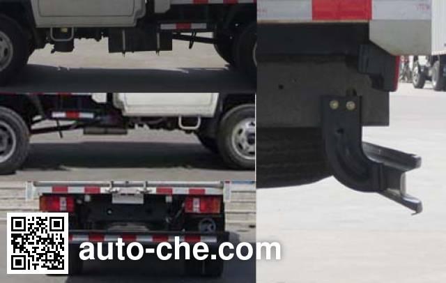 Kama KMC5040CPY28S4 soft top box van truck