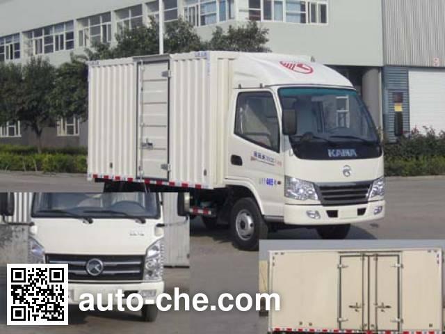 凯马牌KMC5041XXYEV28D纯电动厢式运输车
