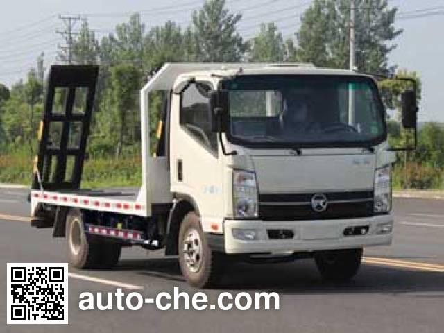 凯马牌KMC5046TPBA33D5平板运输车