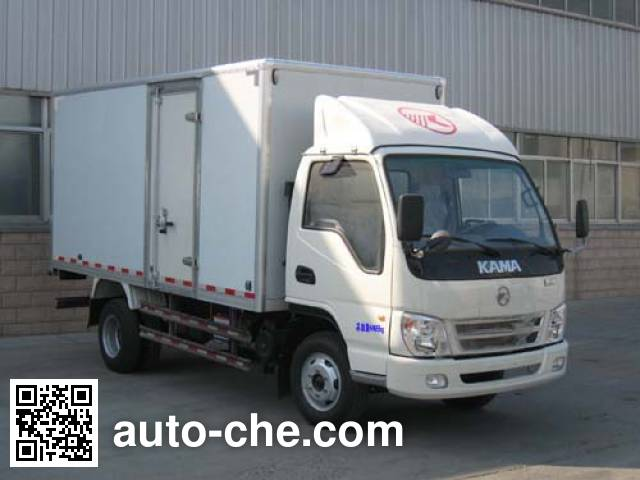 Kama KMC5072XXY33D4 box van truck
