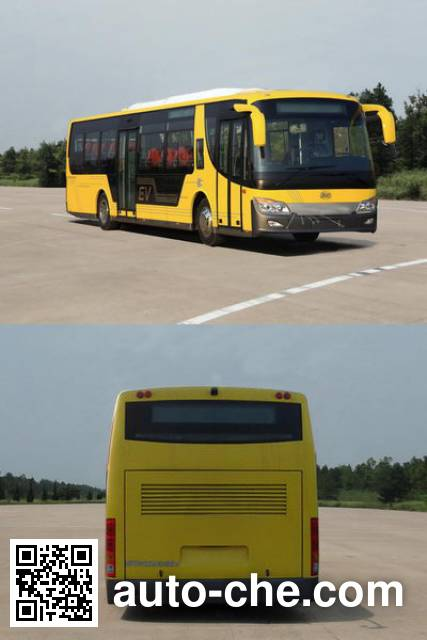 Winnerway KMT6100GBEV electric city bus