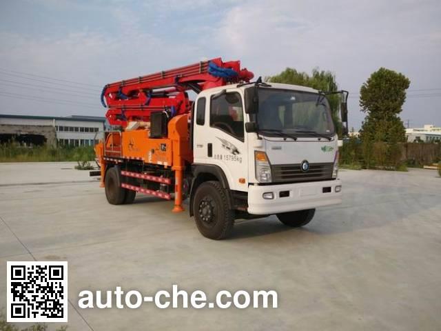 科尼乐牌KNL5161THB混凝土泵车