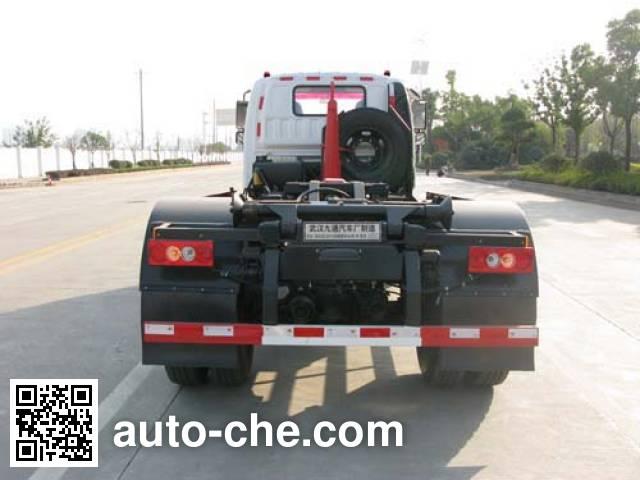 Jiutong KR5120ZXXD4 detachable body garbage truck