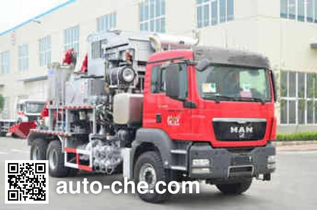 Kerui KRT5240THS10 sand blender truck