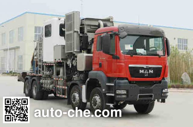 Kerui KRT5300THS12 sand blender truck