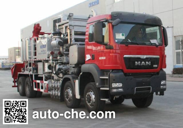 Kerui KRT5302THS sand blender truck