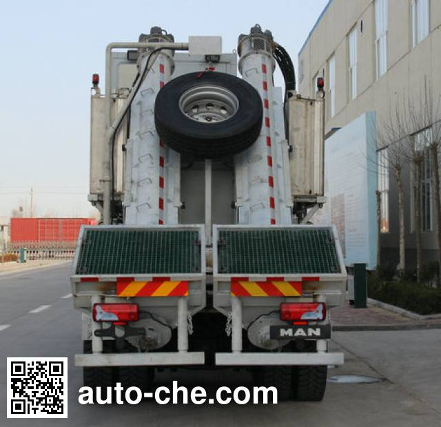 Kerui KRT5310THS16 sand blender truck