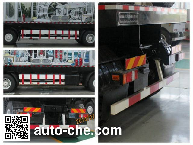 Kerui KRT5320TLG coil tubing truck