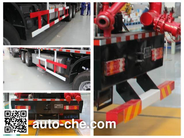 Kerui KRT5380TYL fracturing truck
