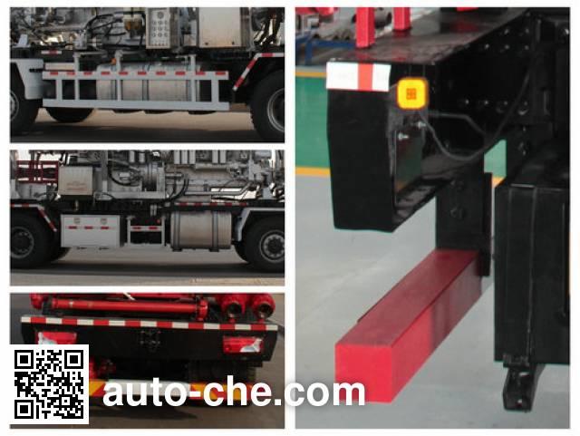 Kerui KRT5410TYL fracturing truck