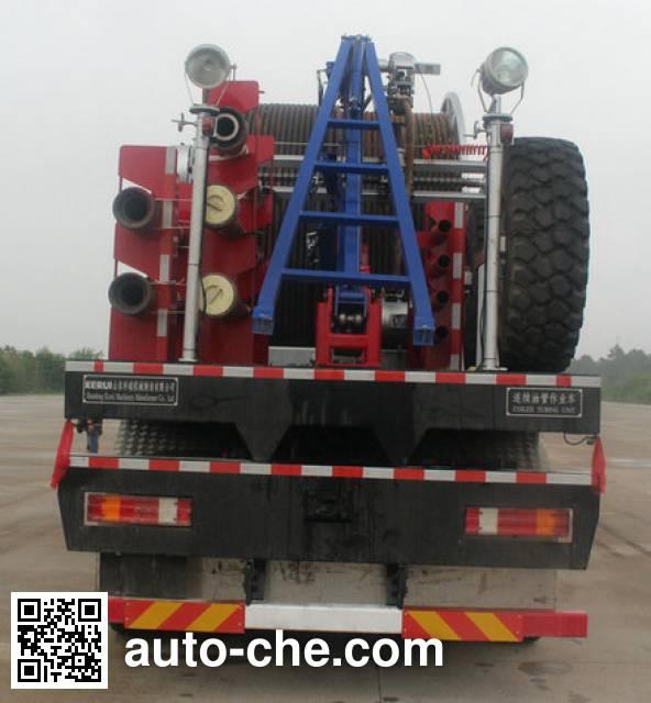 Kerui KRT5542TLG coil tubing truck