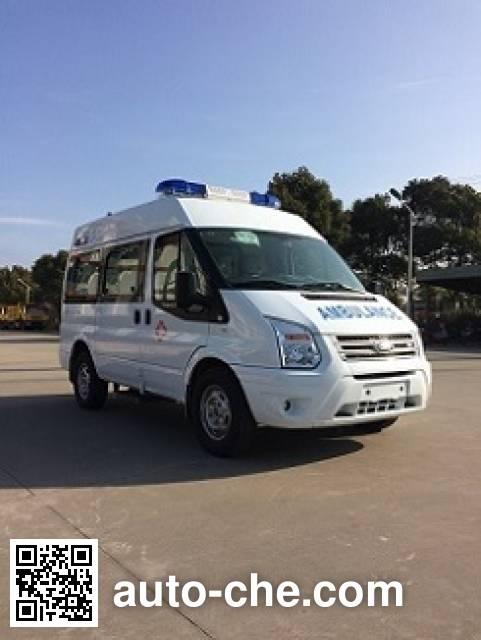 魁士牌KS5040XJH13救护车