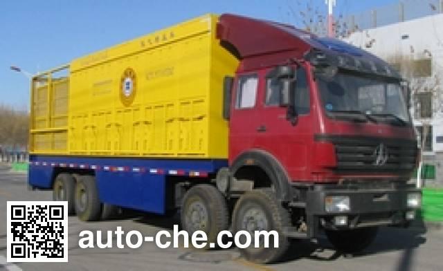Kaide Special Car KTU5310TDZ nitrogen gas booster truck