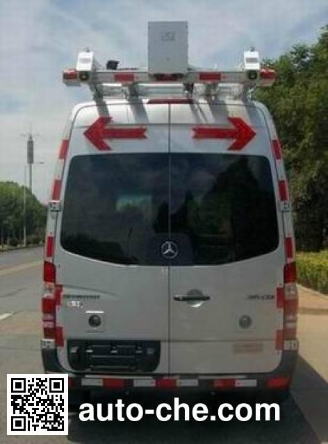 Zhuotong LAM5041XJCV4 inspection vehicle