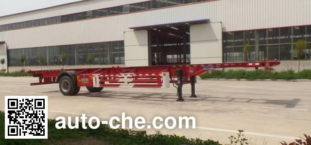 鲁驰牌LC9150TJZ空载集装箱运输半挂车