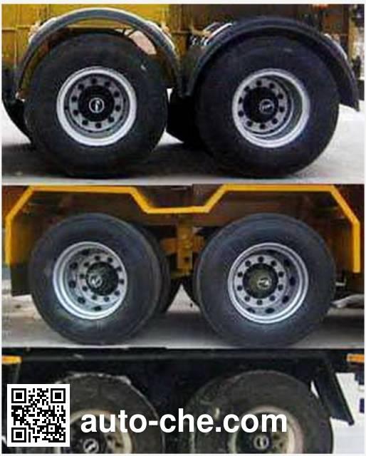 Luchi LC9350ZZXP flatbed dump trailer