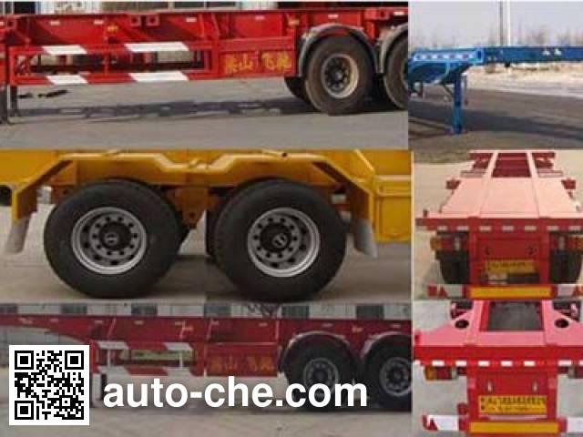 Luchi LC9352TJZG container transport trailer