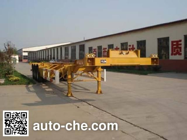 鲁驰牌LC9360TJZGA集装箱运输半挂车
