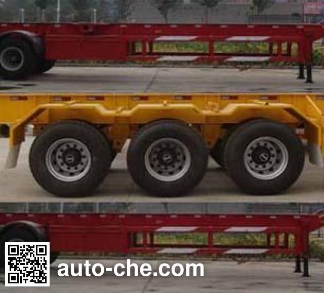 鲁驰牌LC9400TJZG集装箱运输半挂车