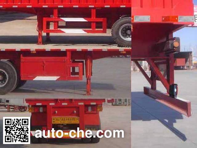 Luchi LC9400XXY box body van trailer