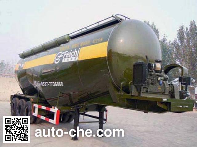 鲁驰牌LC9401GFL中密度粉粒物料运输半挂车
