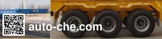 鲁驰牌LC9401TJZG集装箱运输半挂车