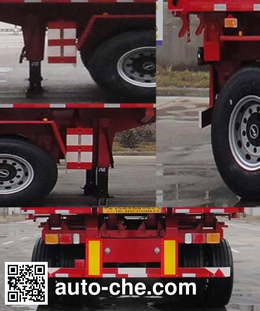 鲁驰牌LC9401ZZXP平板自卸半挂车