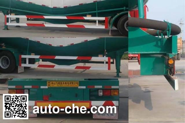 鲁驰牌LC9402GFL低密度粉粒物料运输半挂车