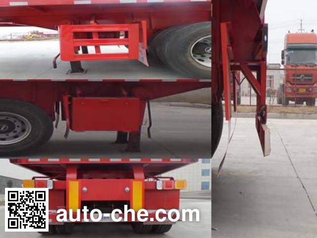 鲁驰牌LC9402ZZXP平板自卸半挂车