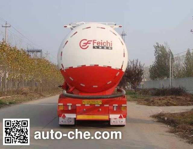 鲁驰牌LC9403GFL低密度粉粒物料运输半挂车