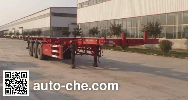 鲁驰牌LC9403TJZ集装箱运输半挂车