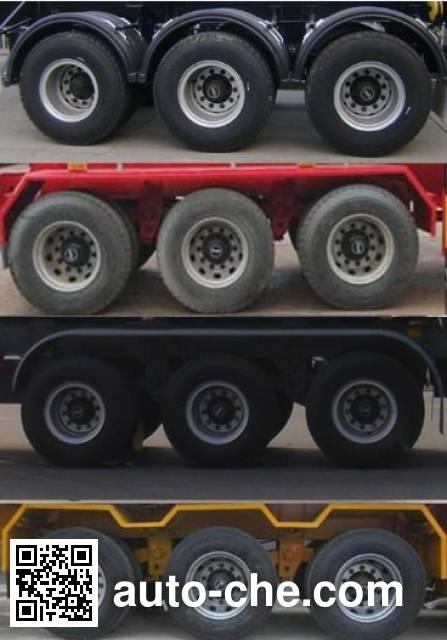 鲁驰牌LC9403TJZE集装箱运输半挂车