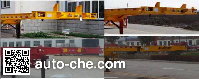 Luchi LC9404TWY dangerous goods tank container skeletal trailer