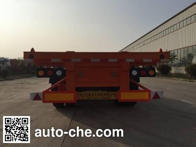 鲁驰牌LC9405TJZE集装箱运输半挂车