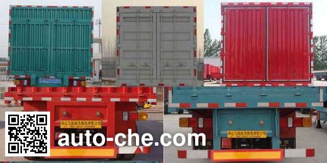 Luchi LC9404XXY box body van trailer