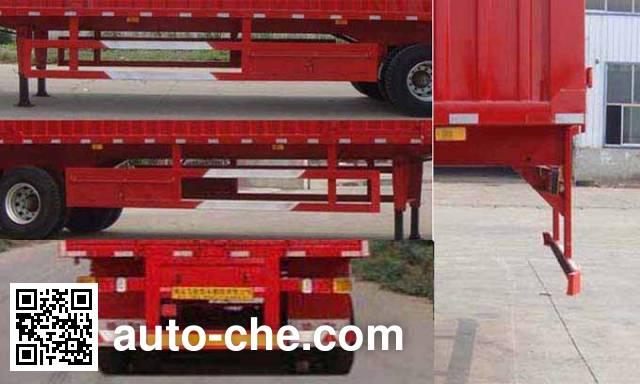 Luchi LC9405XXY box body van trailer