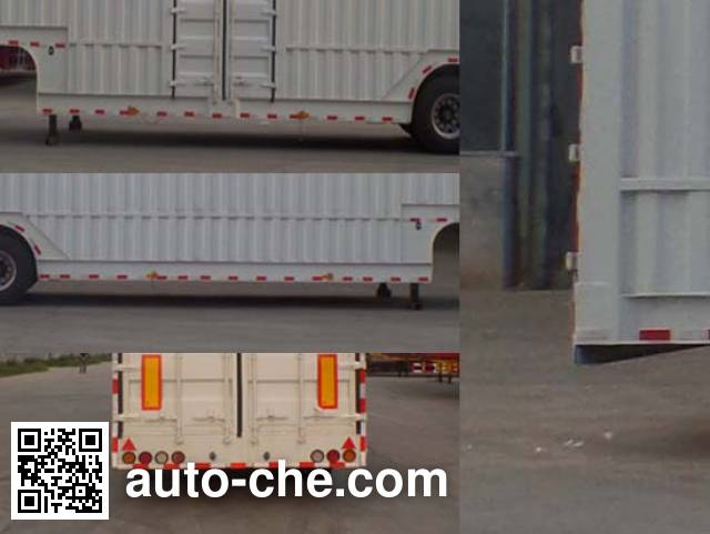 Luchi LC9406XXY box body van trailer