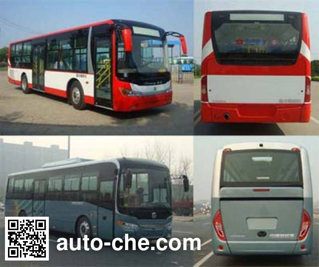 Zhongtong LCK6107PHEVG plug-in hybrid city bus