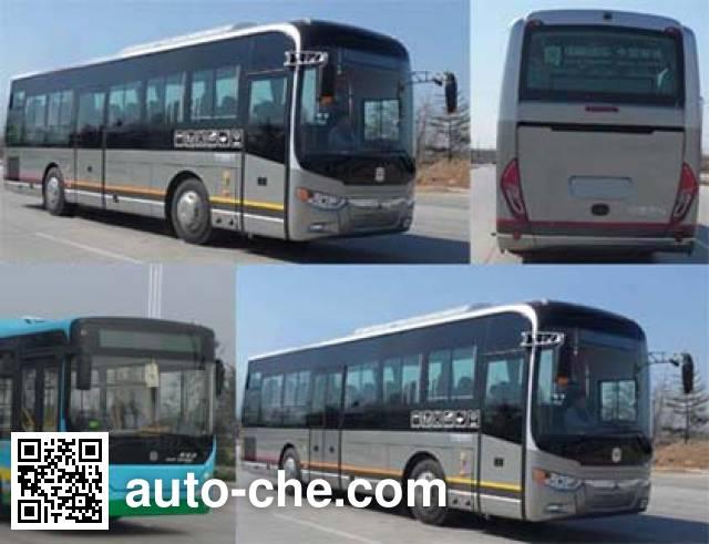 中通牌LCK6105PHEVCQ混合动力城市客车