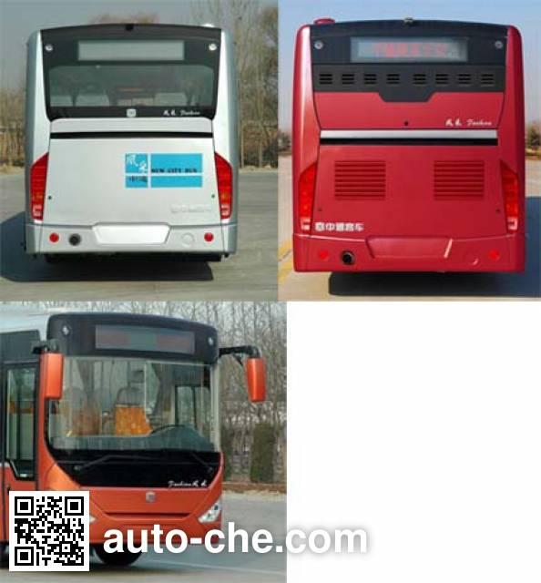 Zhongtong LCK6103PHEVCN hybrid city bus