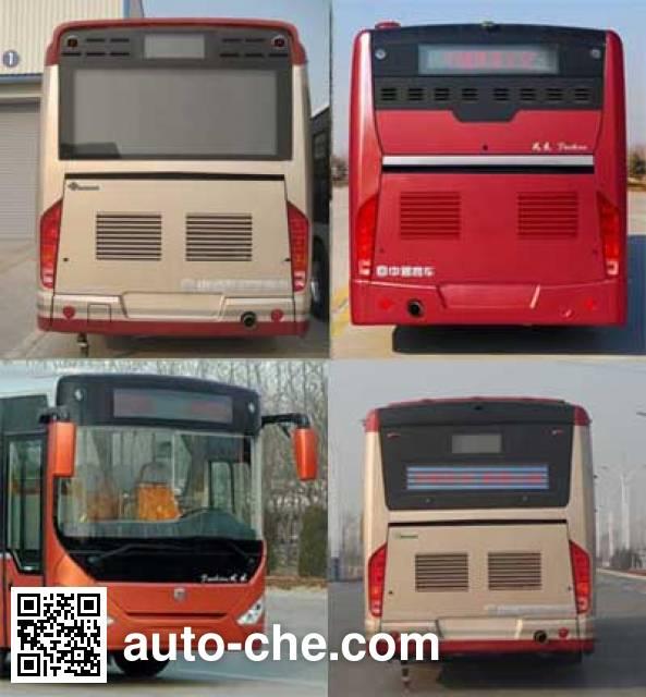Zhongtong LCK6106PHENV hybrid city bus