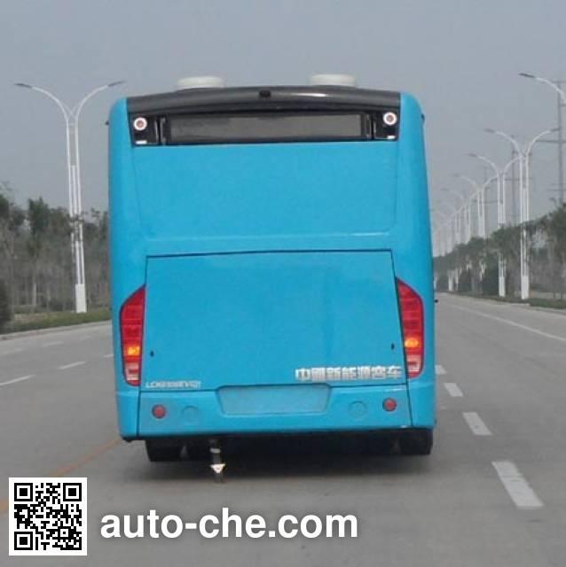 中通牌LCK6108EVG32纯电动城市客车