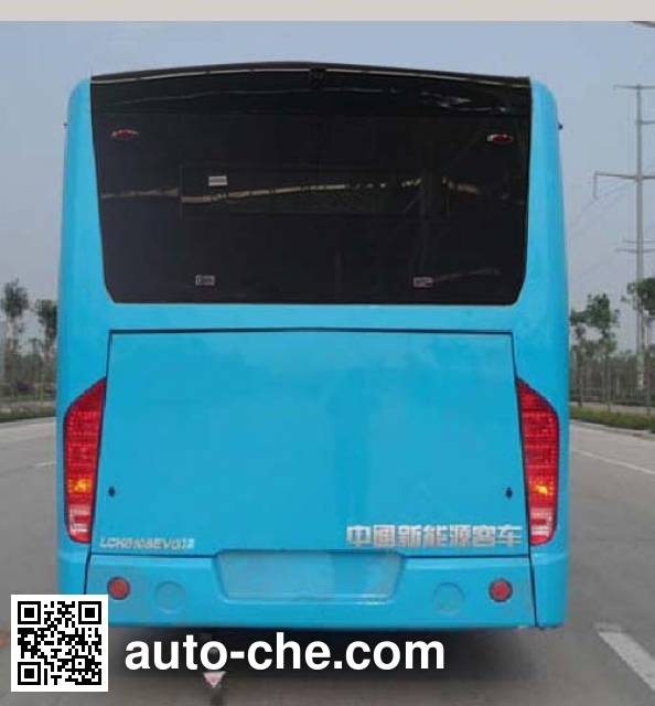 中通牌LCK6108EVG6纯电动城市客车