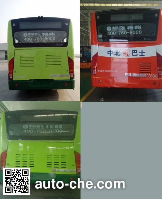 Zhongtong LCK6108EVG6 electric city bus