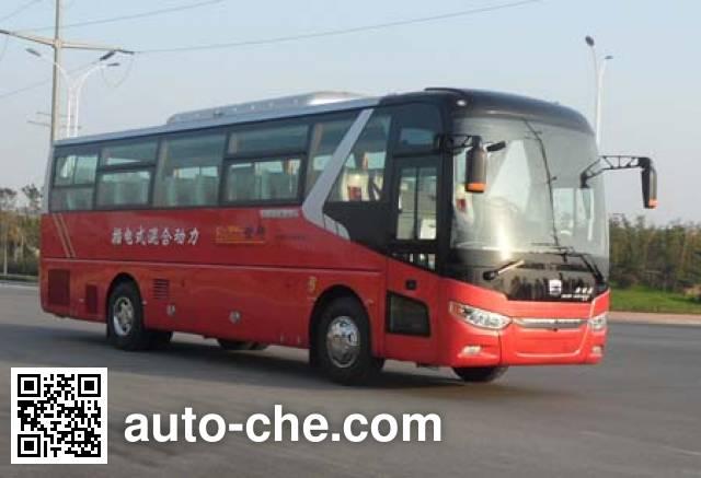 Zhongtong LCK6109PHEV5Q plug-in hybrid bus